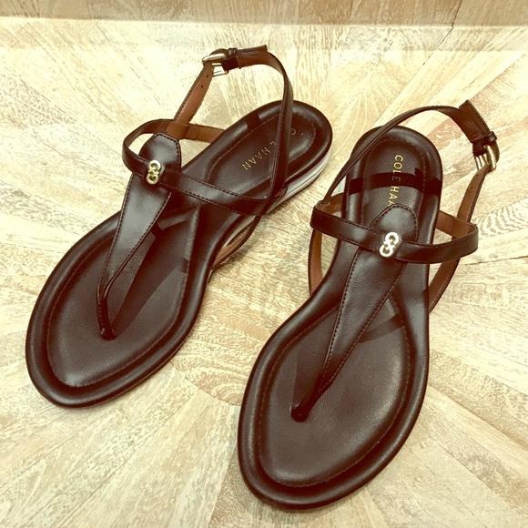 1c4a7a0c073b Cole Haan Shoes - Cole Haan Women s original Grand Black flat Sandal